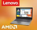 Скидки до 3000 рублей по промокоду на ноутбуки Lenovo на базе гибридных процессоров AMD.