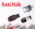 Экстрабонусы 10% за покупку USB Sandisk.