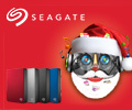Экстрабонусы 7% за внешние жесткие диски Seagate.