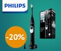Скидка 20% по промокоду на электрическую зубную щетку PHILIPS Sonicare 2 Series HX6232.