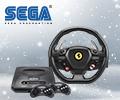 Новогодние цены на игровые консоли SEGA Mega Drive и руль Thrustmaster.