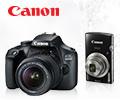 Экстрабонусы 10% за фотоаппараты Canon.