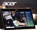Скидка 10% по промокоду на ноутбуки Acer.