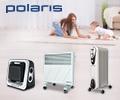 Скидки до 40% по промокоду на обогреватели Polaris.
