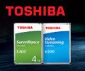 Скидка 7% по промокоду на жесткие диски Toshiba.