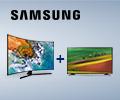 Скидка 100% на второй товар в комплекте при единовременной покупке телевизоров Samsung из списка.