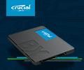 Скидка 15% на SSD накопитель CRUCIAL BX500 480Гб.