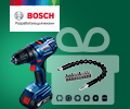 Скидка 100% на набор бит при покупке в комплекте с электроинструментами BOSCH.