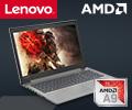 Cкидки до 5000 рублей по промокоду на ноутбуки Lenovo на базе процессоров AMD.