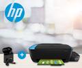 Скидка 100% на беспроводную гарнитуру при покупке в комплекте с принтером или МФУ HP Ink Tank.
