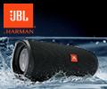 Скидка 100% на наушники с микрофоном JBL при заказе в комплекте с колонкой JBL Charge 4.