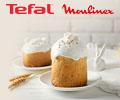 Скидка 15% по промокоду на кухонную технику TEFAL, MOULINEX.