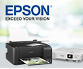 Скидка 10% по промокоду на принтеры, МФУ, сканеры и проекторы EPSON.