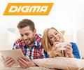Скидки до 40 % на технику Digma.