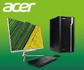 Скидки до 15% по промокоду на ПК и моноблоки Acer.