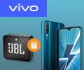 Скидка 100% на колонку JBL GO 2 при заказе со смартфоном VIVO Y17.