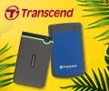 До 400 рублей бонусами за покупку внешних жестких дисков Transcend.