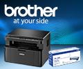 Скидка 50% на картридж BROTHER TN1095 при покупке в комплекте с лазерными аппаратами Brother.