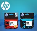 Скидка 15% на комплект из 2х разных картриджей HP по промокоду HP2.