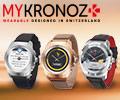 Скидки до 20% по промокоду на смарт-часы MyKronoz.