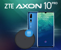 Беспроводное зарядное устройство ZTE в подарок за смартфон ZTE Axon 10 Pro.