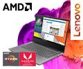 Cкидки до 3000 рублей по промокоду на ноутбуки Lenovo на базе процессоров AMD.