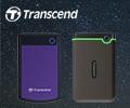 Экстрабонусы до 600 рублей за покупку внешних жестких дисков Transcend.