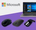 Скидка на аксессуары Microsoft в размере 25% при единовременной покупке с ноутбуком с Windows 10.