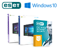 Eset в подарок при покупке OC Windows домашняя или Windows профессиональная.