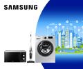 Скидки до 20% по промокоду на бытовую технику Samsung.
