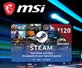 Купи игровой десктоп или монитор MSI – и получи код для пополнения Steam-кошелька на сумму до $80.