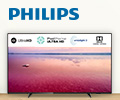 Карта Visa номиналом до 5000 руб. в подарок при покупке телевизоров Philips.