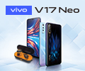 Скидка 100% на наушники HARPER при заказе со смартфоном vivo V17 Neo.