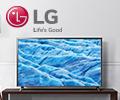 Сертификат Ситилинк номиналом до 10000 руб. в подарок при покупке телевизоров LG.
