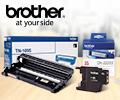 Бесплатная доставка расходных материалов BROTHER.