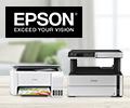 Скидки до 15% за на принтеры, МФУ и проекторы EPSON.