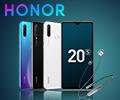 Купите смартфон Honor и получите подарок гарнитура Honor Sport PRO.