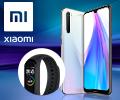Фитнес-трекер Xiaomi Mi Band 4 в подарок за смартфоны Xiaomi Redmi Note 8T.