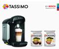 Скидка 100% на две разные упаковки Т-дисков при заказе с кофемашиной BOSCH Tassimo.