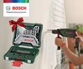 Набор принадлежностей BOSCH X-Line-33 со скидкой 100% при заказе с электроинструментами и измерительной техники BOSCH.