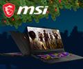 Рассрочка 0-0-12 на ноутбуки MSI.