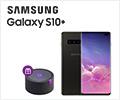 Скидка 100% на умную колонку Яндекс.Станция при заказе со смартфоном Samsung Galaxy.