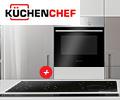 При единовременной покупке варочной панели и духового шкафа Kuchenchef скидка 15% на комплект.