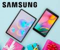 Скидка 100% на сертификат Ситилинк номиналом до 5000 руб. при единовременном заказе с Планшетами Samsung Galaxy.