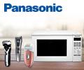 Скидки до 20% на бытовую технику Panasonic.