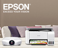 Скидка 10% на принтеры, МФУ и проекторы EPSON.