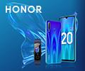 Скидка 100% на фитнес-трекер Band 5 при покупке со смартфоном Honor 20 Lite.