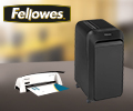 Скидка 15% по промокоду FELLOWES на покупку техники Fellowes.