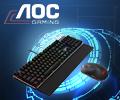 Скидка 10% по промокоду IGRA на клавиатуру и мышь AOC.