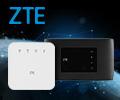 Скидка до 25% по промокоду FREE на маршрутизаторы и модемы ZTE.